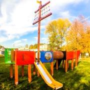Small plac zabaw warezyn