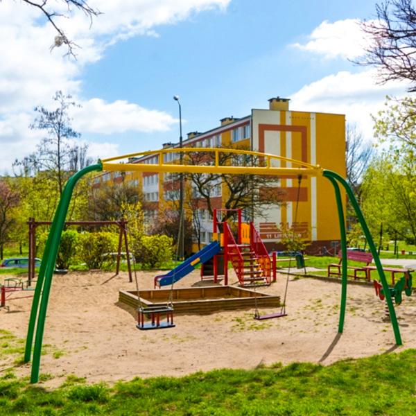 Plac zabaw dla dzieci w koninie