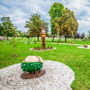 Small park na dolnej syberce w bedzinie