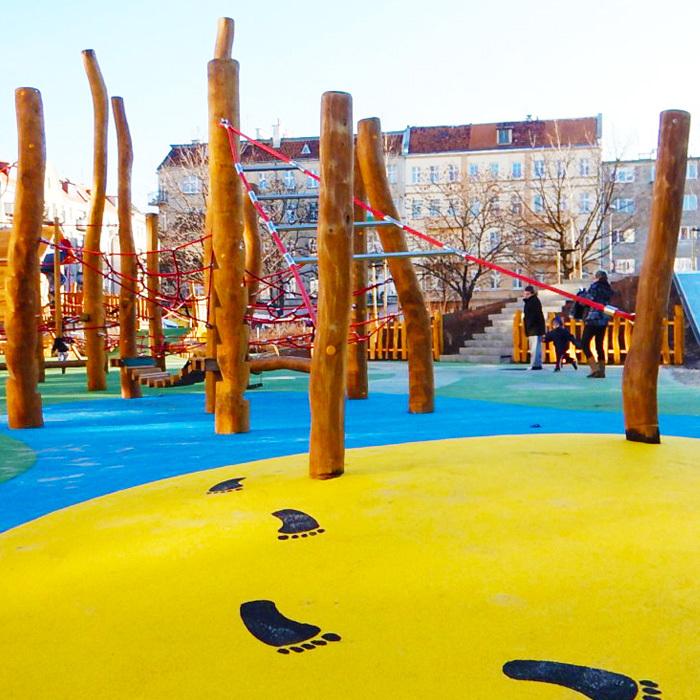 Plac zabaw dla dzieci wroclaw plac pereca