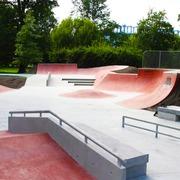 Small skatepar krakow park jordana