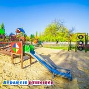 Small plac zabaw sosnowiec park sielec