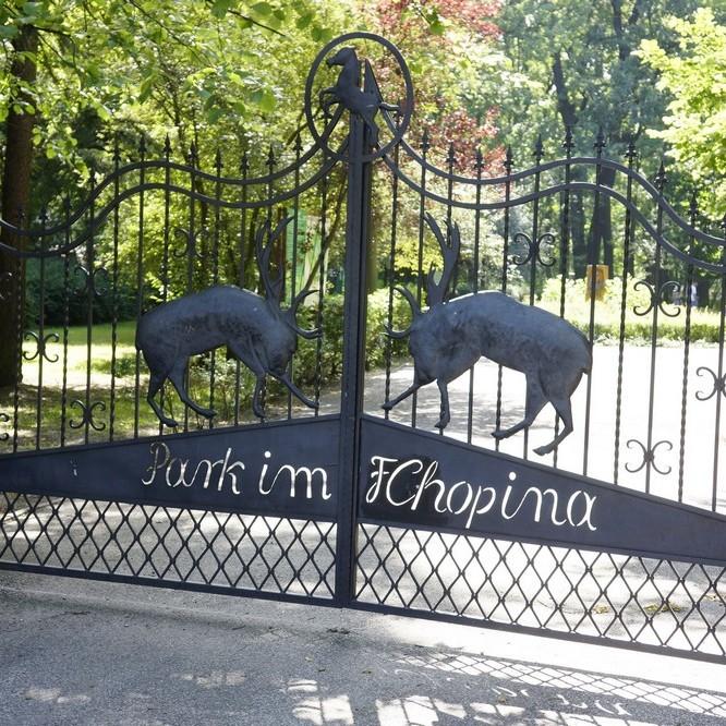 Park chopina konin