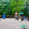 Plac zabaw w Świnoujściu w parku Zdrojowym