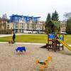 Plac zabaw w Świnoujściu przy Muszli Koncertowej Promenada