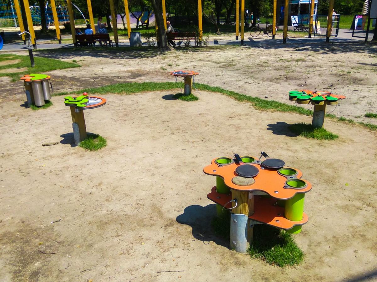 plac zabaw ogród jordanowski w Kazimierzu Górniczym w Sosnowiecu zdjęcie 3