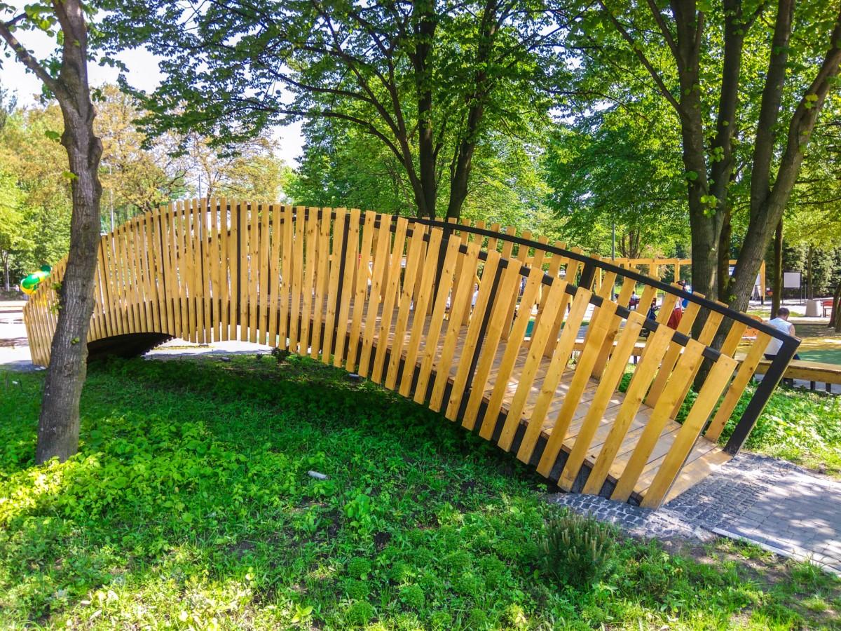 plac zabaw ogród jordanowski w Kazimierzu Górniczym w Sosnowiecu zdjęcie 0