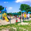 Plac zabaw Żory Park Cegielnia