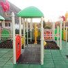 Warszawa - plac zabaw na terenie Centrum Zdrowia Dziecka