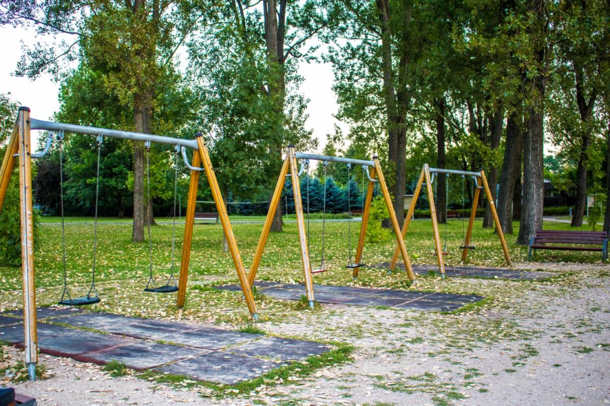 Plac zabaw dla dzieci Park Kępa Potocka Warszawa zdjęcie 2