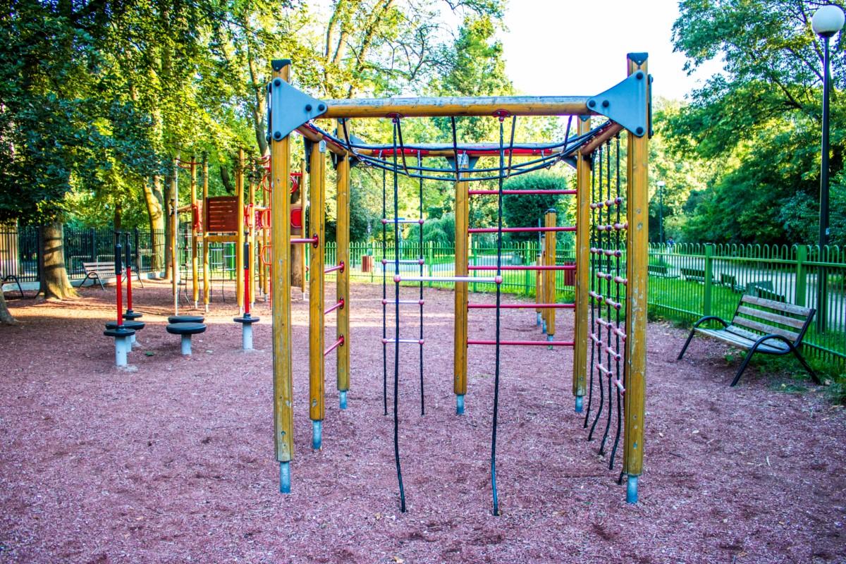 plac zabaw dla dzieci Warszawa Park Wielkopolski zdjęcie 0