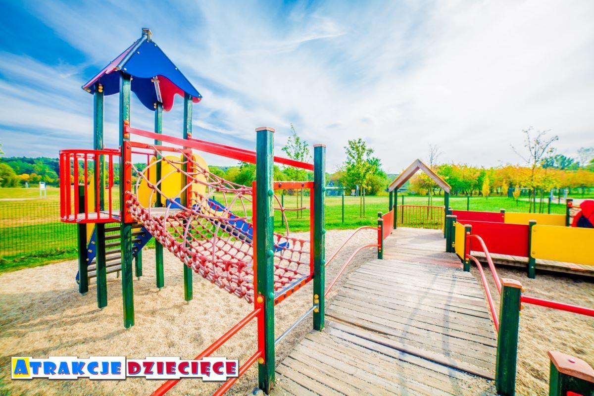 Plac zabaw dla dzieci Katowice Dolina 3 Stawów zdjęcie 6