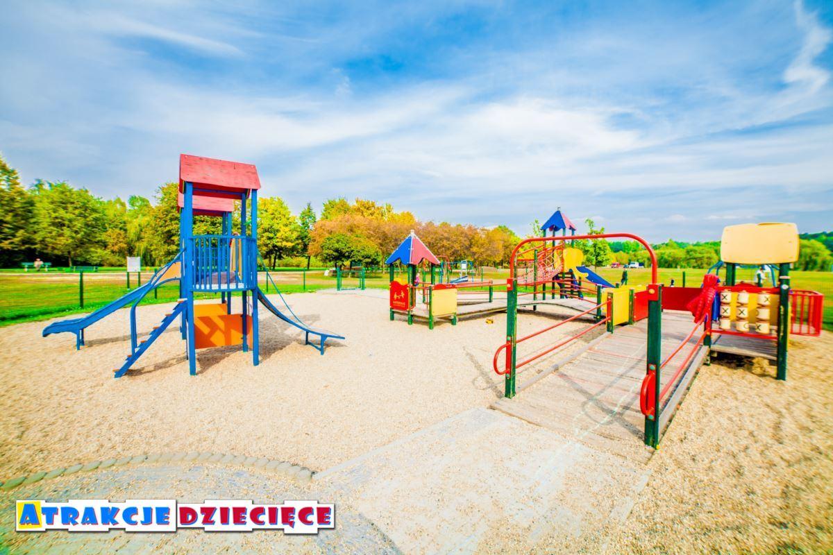 Plac zabaw dla dzieci Katowice Dolina 3 Stawów zdjęcie 7
