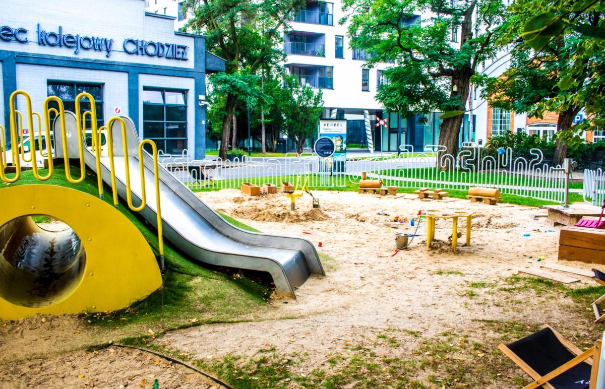 plac zabaw dla dzieci w fabryce soho w warszawie  zdjęcie 0