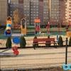 Plac zabaw Sosnowiec Plac Papieski