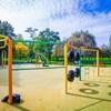 Plac zabaw Katowice Park Alojzego Budnioka zdjęcie 2