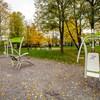 Siłownia zewnętrzna Kraków Park Tadeusza Kościuszki