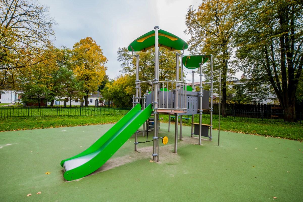 Plac zabaw Kraków park Tadeusza Kościuszki zdjęcie 10