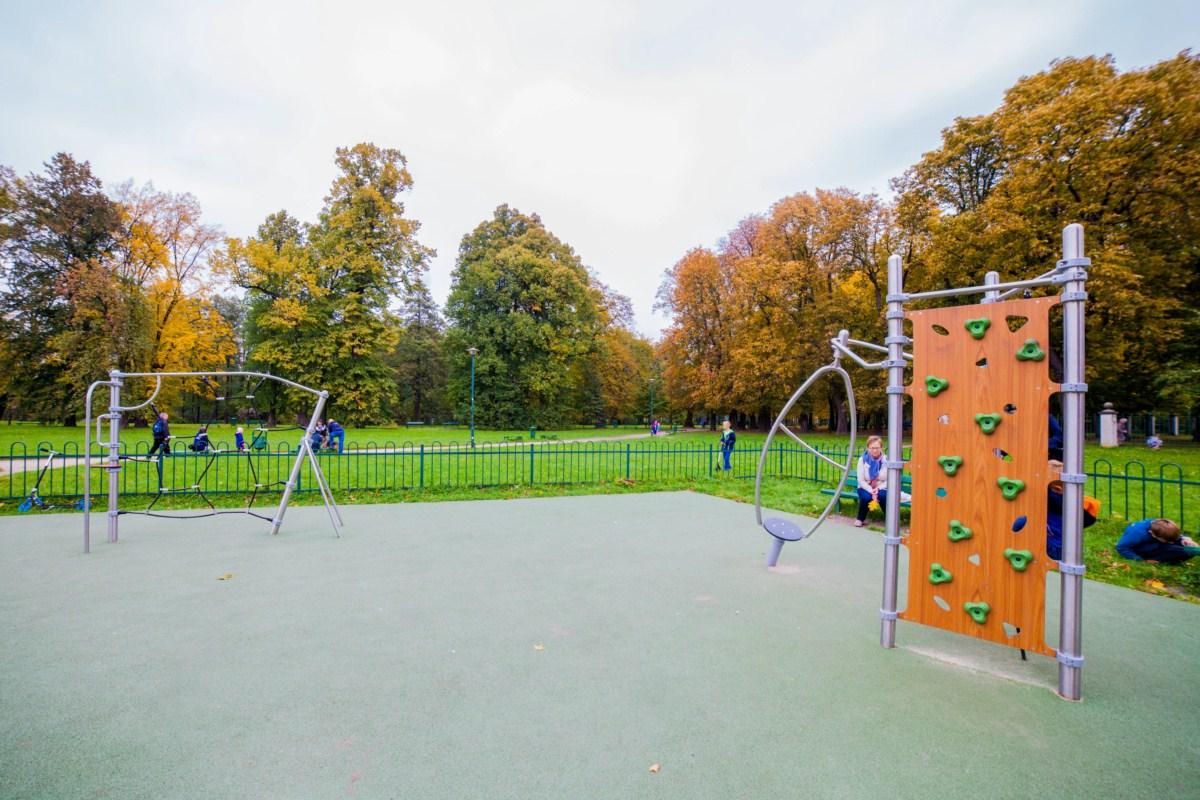 Plac zabaw Kraków park Tadeusza Kościuszki zdjęcie 7