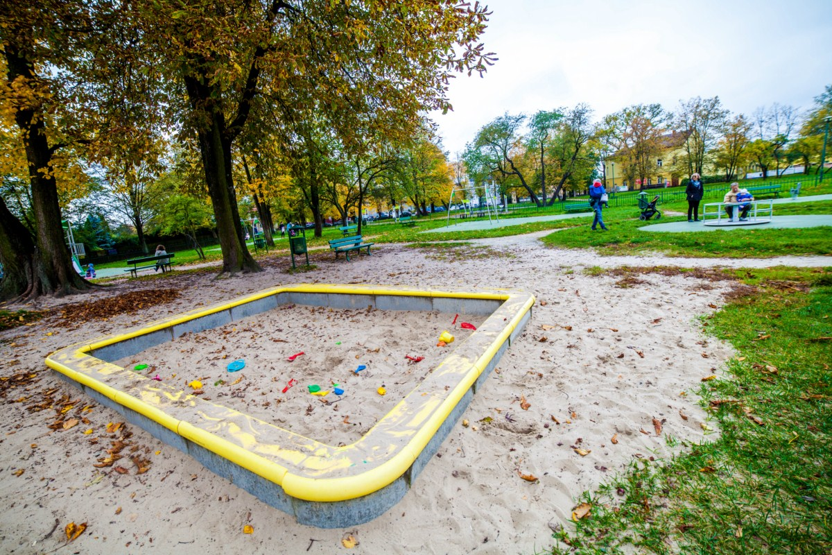 Plac zabaw Kraków park Tadeusza Kościuszki zdjęcie 6
