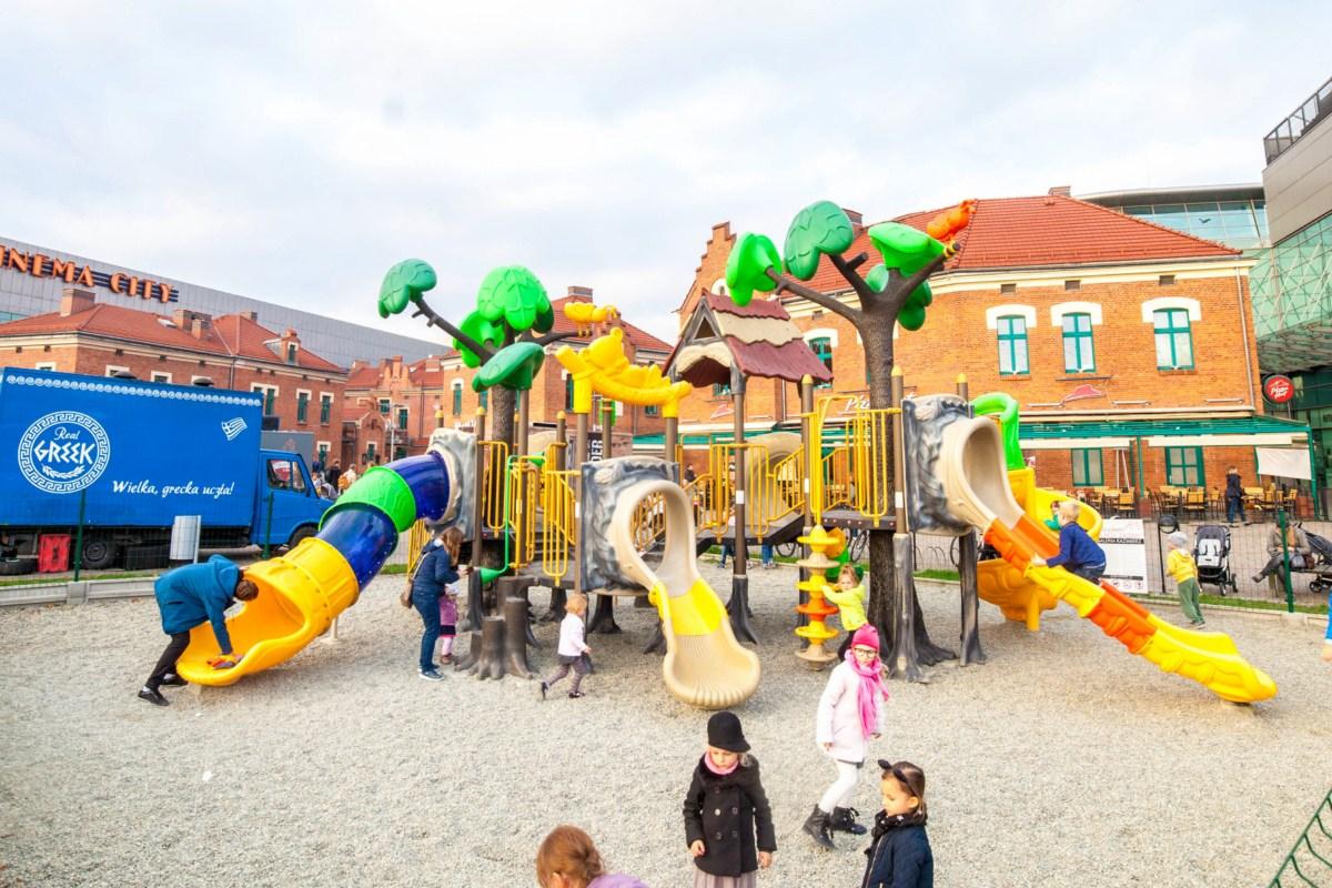 Plac zabaw dla dzieci Galeria Kazimierz Kraków zdjęcie 4
