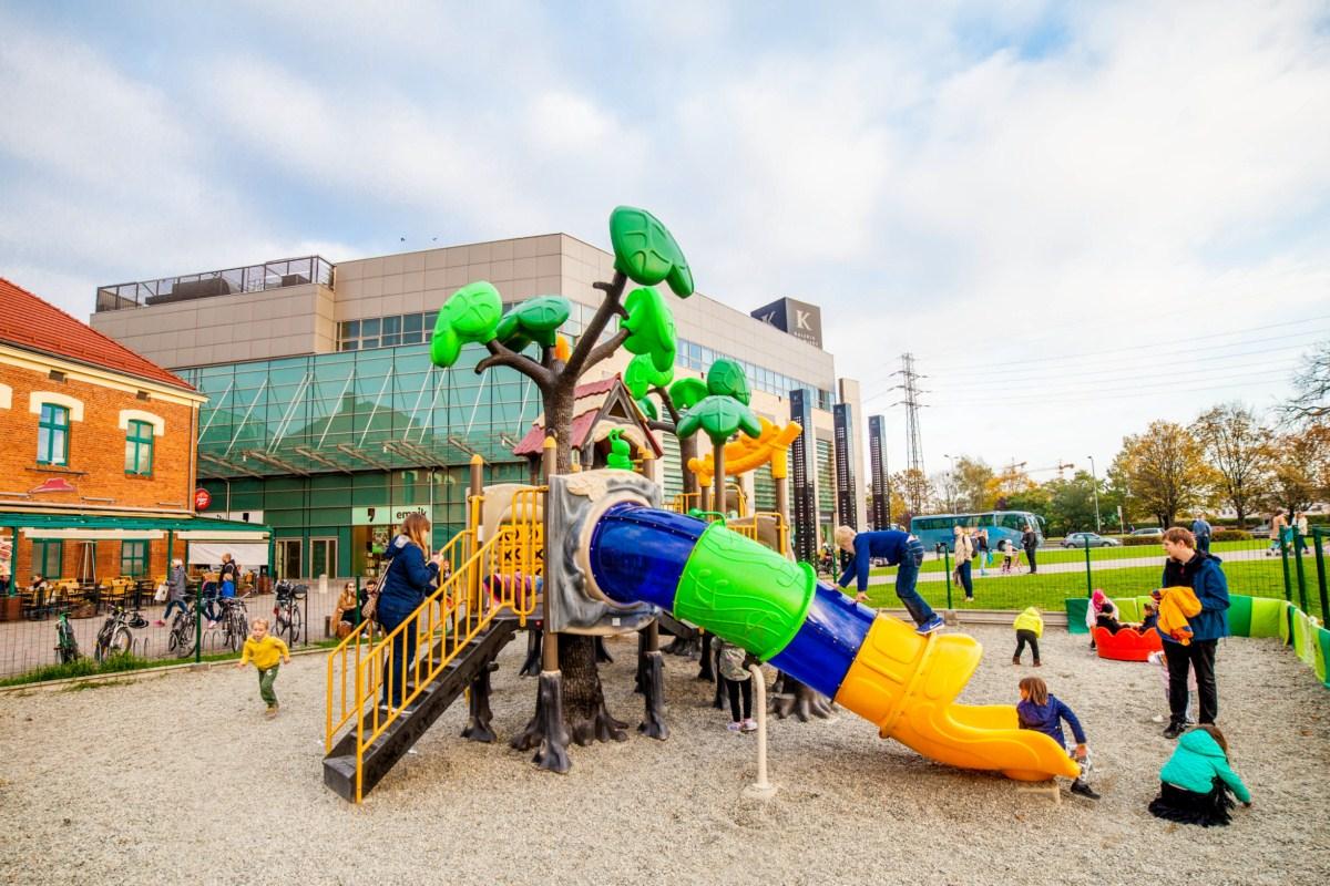 Plac zabaw dla dzieci Galeria Kazimierz Kraków zdjęcie 2