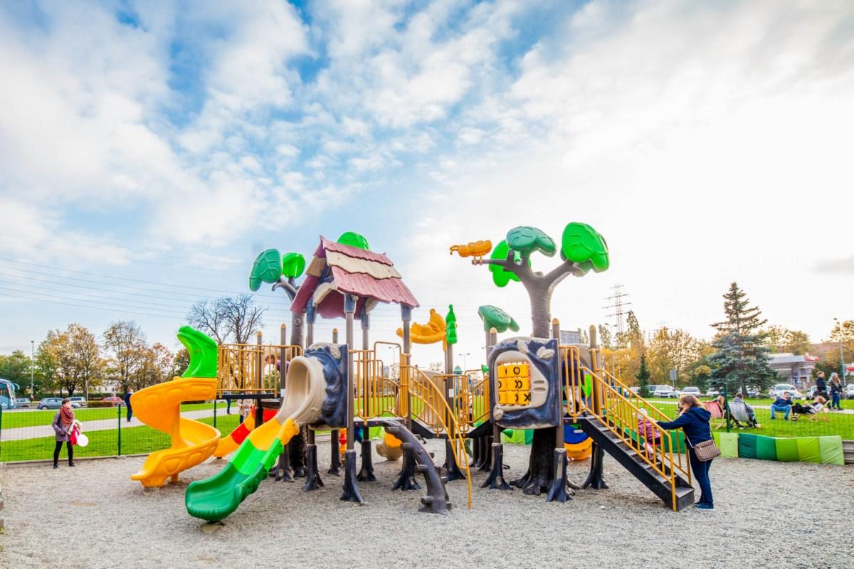 Plac zabaw dla dzieci Galeria Kazimierz Kraków zdjęcie 1