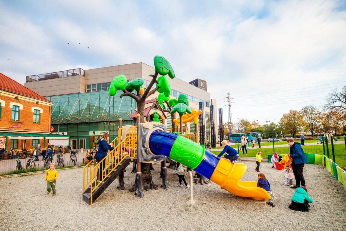 Plac zabaw dla dzieci Galeria Kazimierz Kraków zdjęcie 0