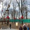 Park linowy w Jaśle