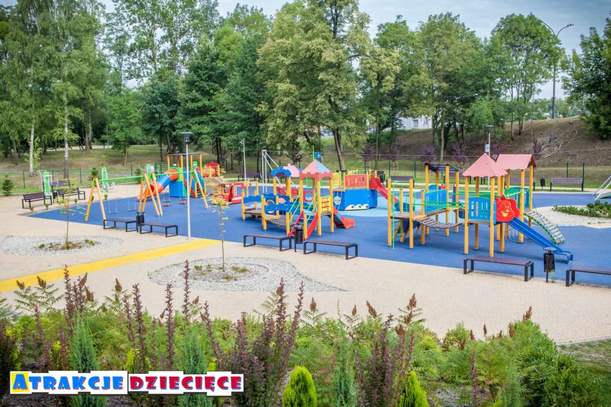 Plac Zabaw Będzin Park Warpie zdjęcie 1