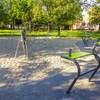 Plac zabaw skwer Hilarego Krzysztofiaka Katowice zdjęcie 1