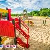 Plac zabaw w parku Ronalda Regana Gdańsk