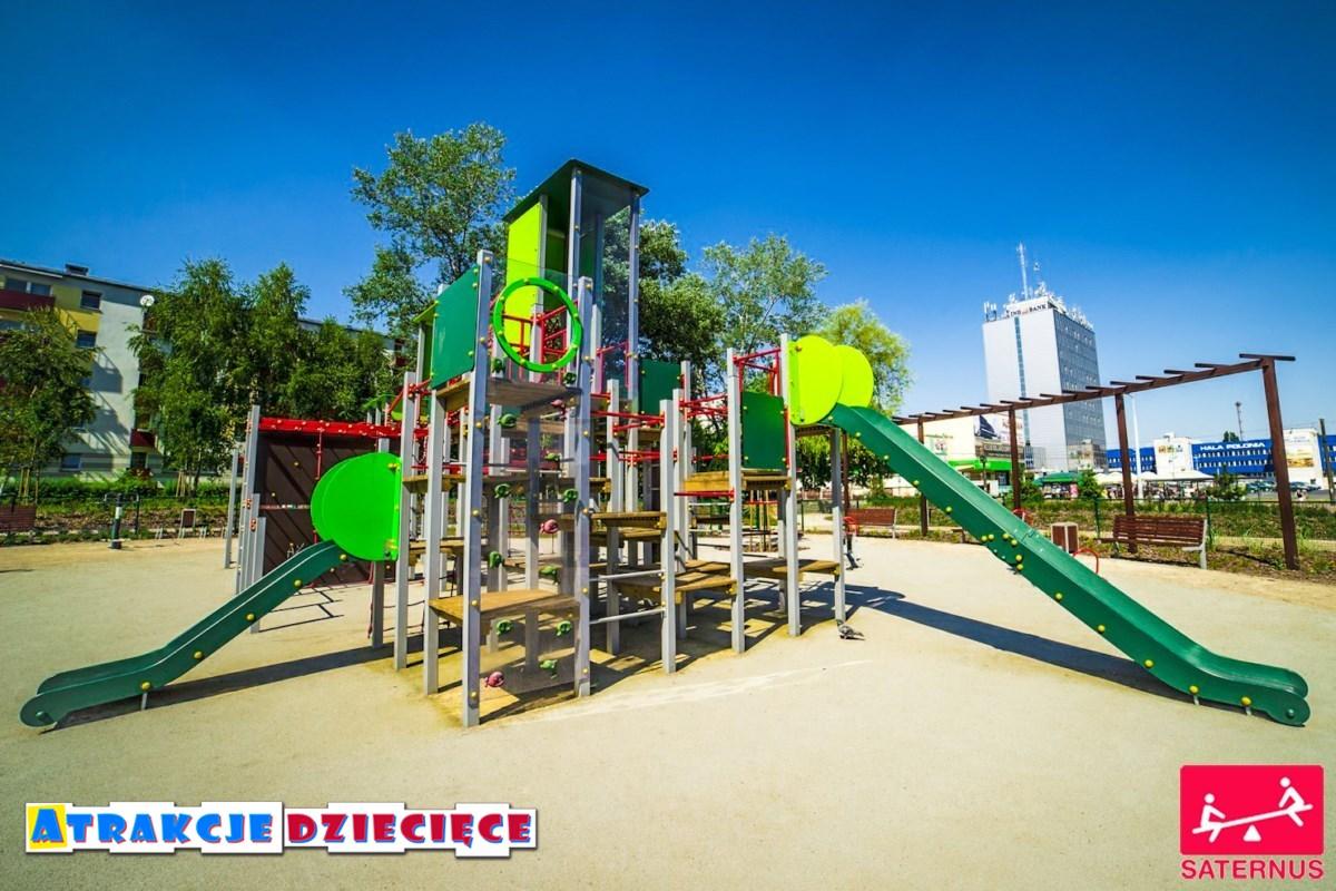 Plac zabaw dla dzieci Częstochowa Armii Krajowej zdjęcie 0