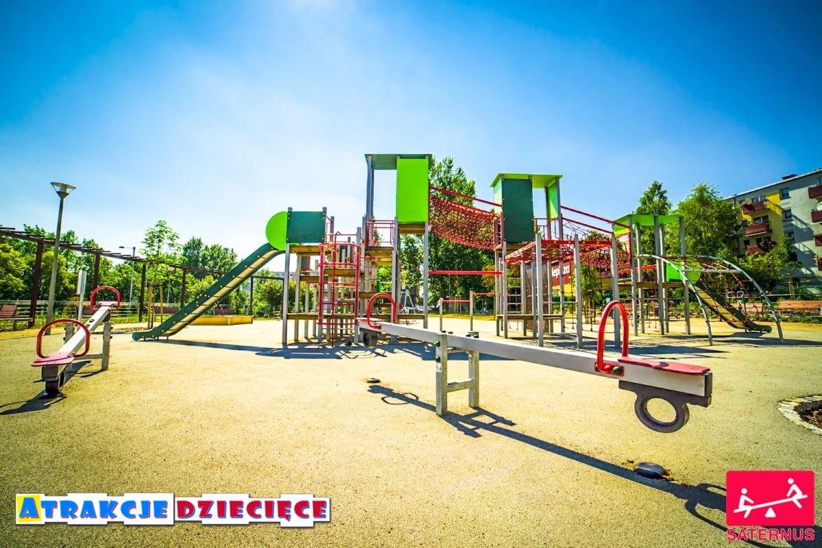 Plac zabaw dla dzieci Częstochowa Armii Krajowej zdjęcie 2