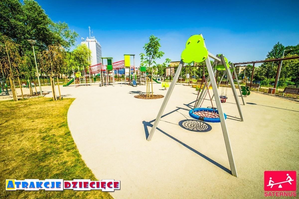 Plac zabaw dla dzieci Częstochowa Armii Krajowej zdjęcie 4