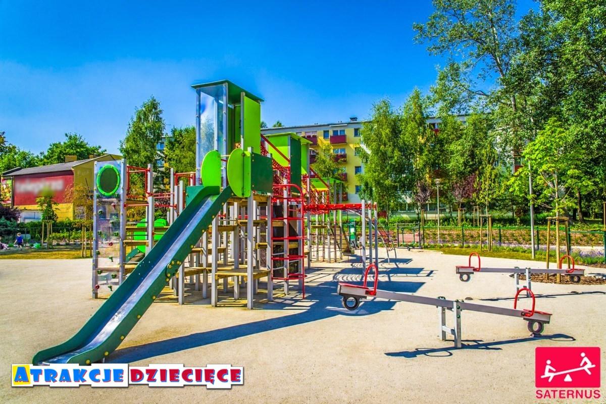 Plac zabaw dla dzieci Częstochowa Armii Krajowej zdjęcie 6