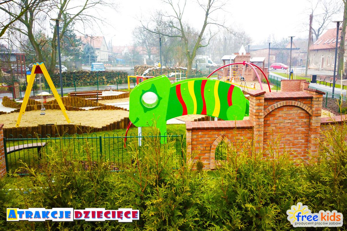 Plac zabaw Wrocław ul. Miłoszycka zdjęcie 6