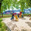 Plac zabaw Dąbrowa Górnicza Park Śródmiejski