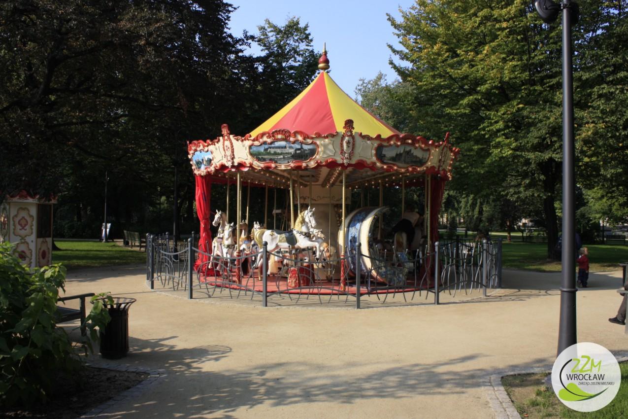 Plac zabaw Ogród Staromiejski we Wrocławiu zdjęcie 5