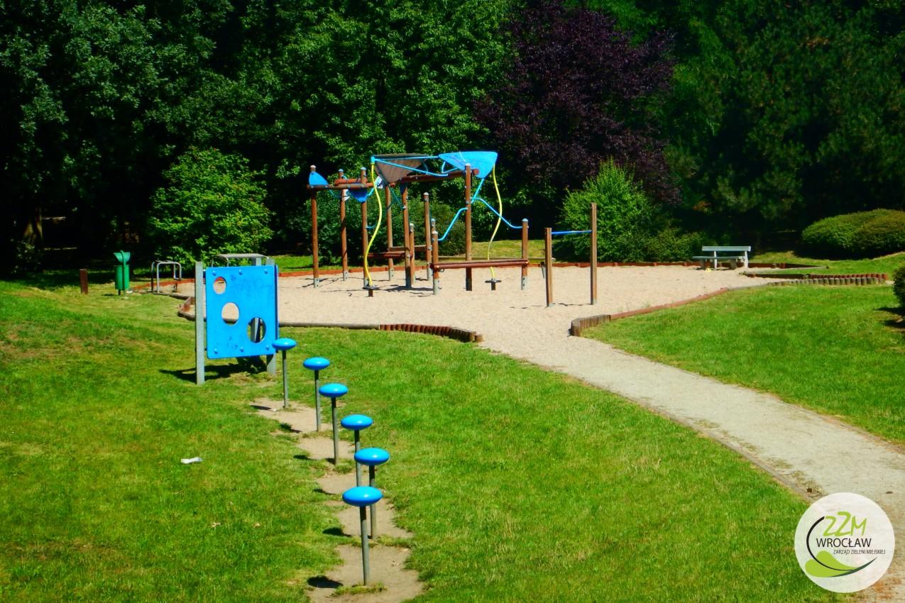 Plac zabaw Park Szczytnicki we Wrocławiu zdjęcie 5