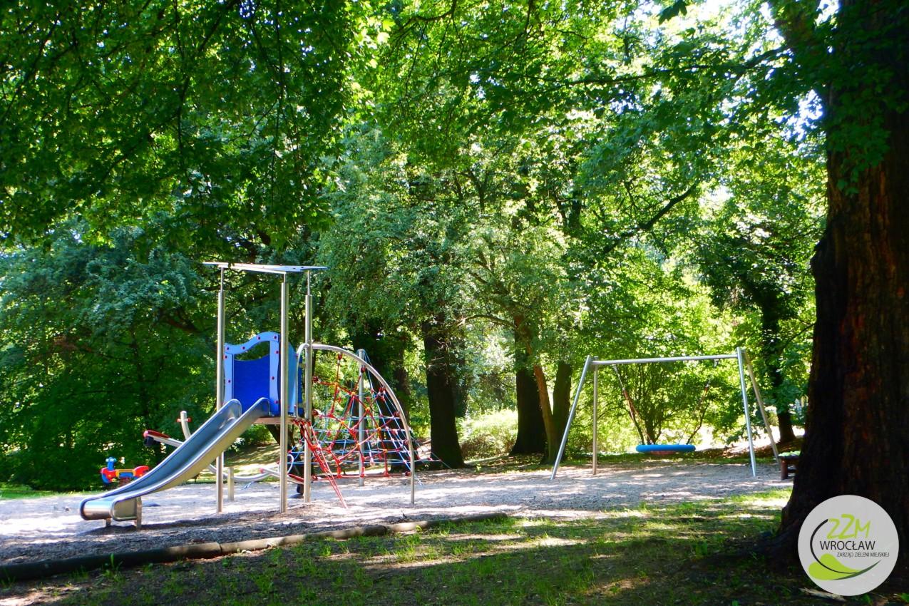 Plac zabaw Park Szczytnicki we Wrocławiu zdjęcie 4