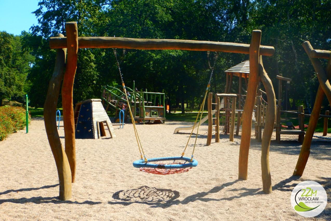 Plac zabaw Park Szczytnicki we Wrocławiu zdjęcie 2