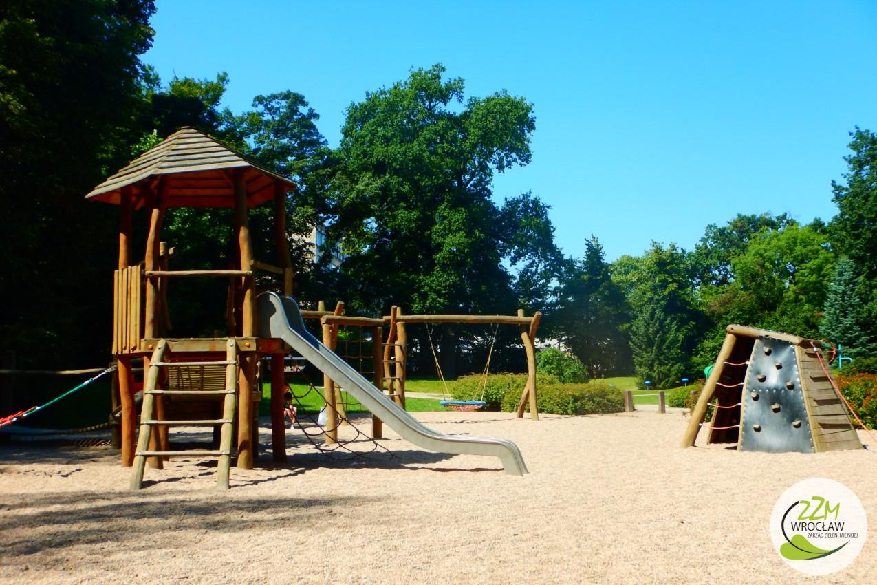 Plac zabaw Park Szczytnicki we Wrocławiu zdjęcie 1