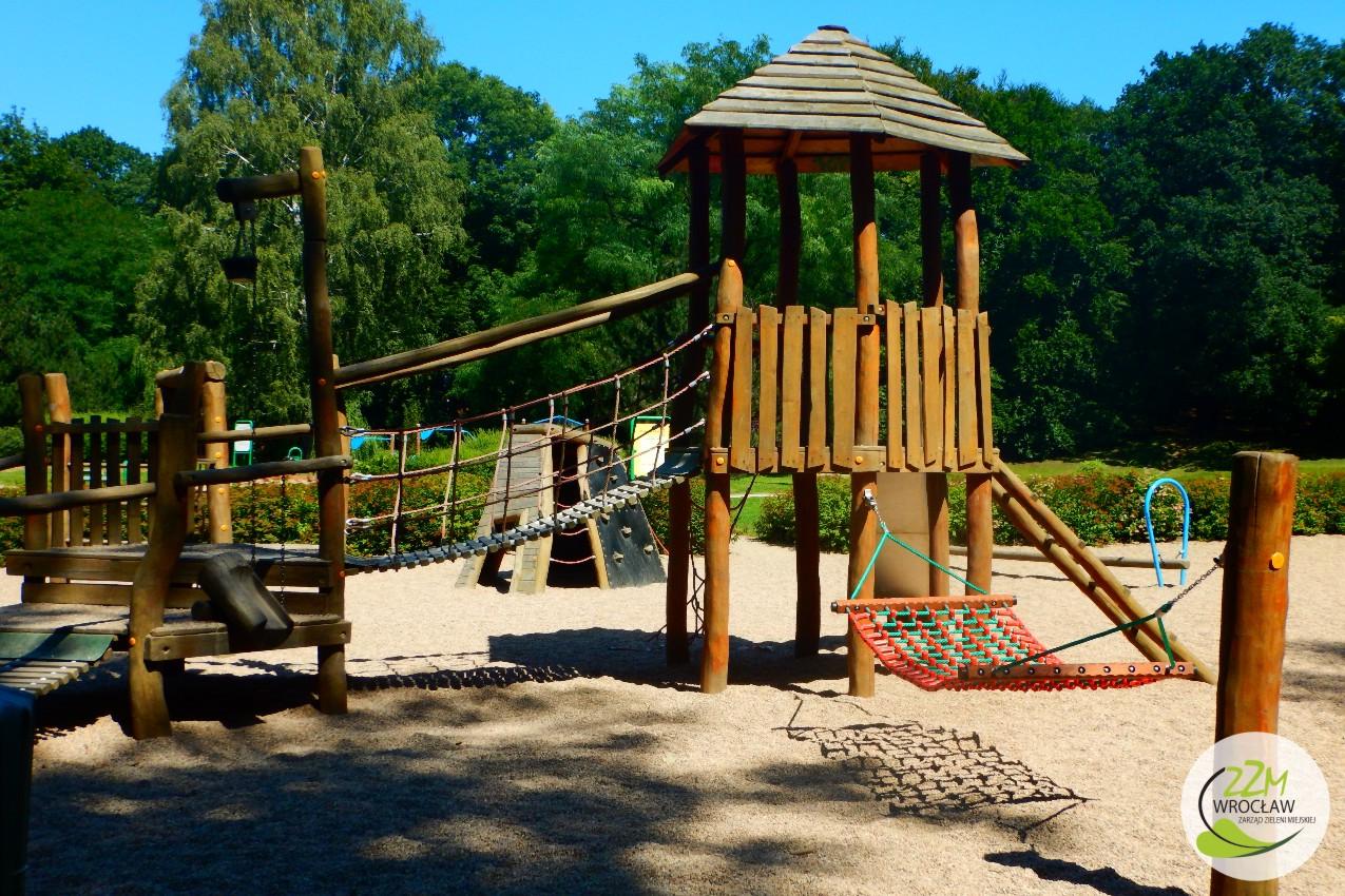 Plac zabaw Park Szczytnicki we Wrocławiu zdjęcie 0