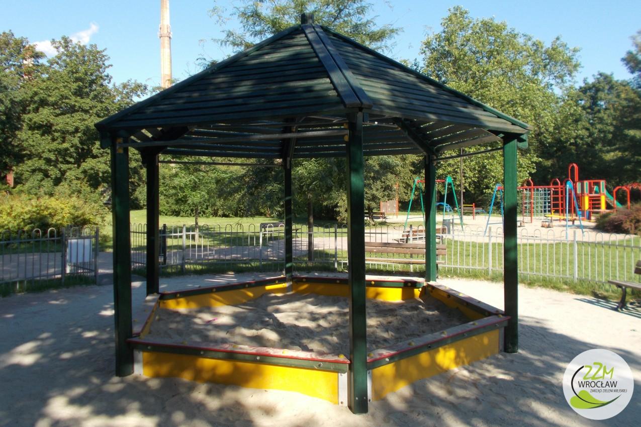 Plac zabaw Park Staszica we Wrocławiu zdjęcie 8