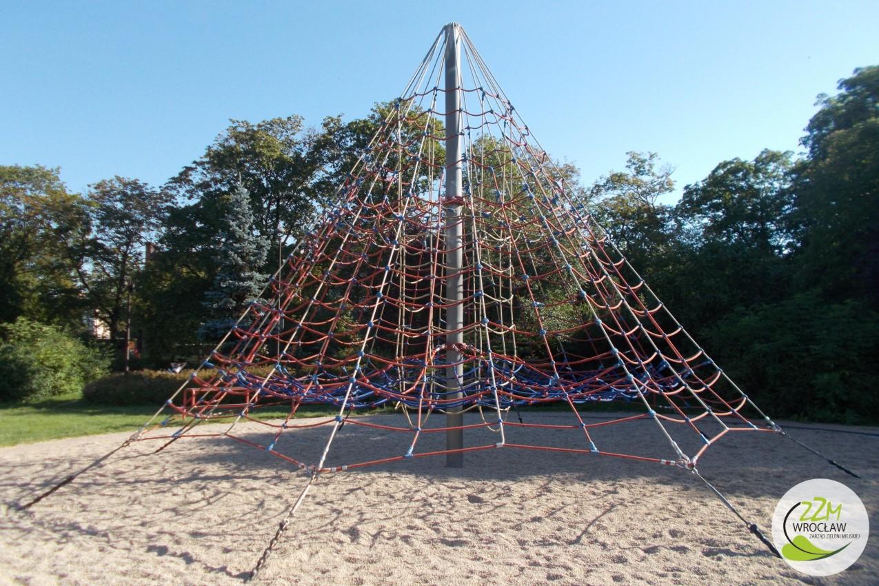 Plac zabaw Park Staszica we Wrocławiu zdjęcie 7