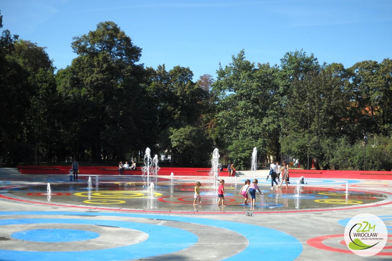 Plac zabaw Park Staszica we Wrocławiu zdjęcie 4