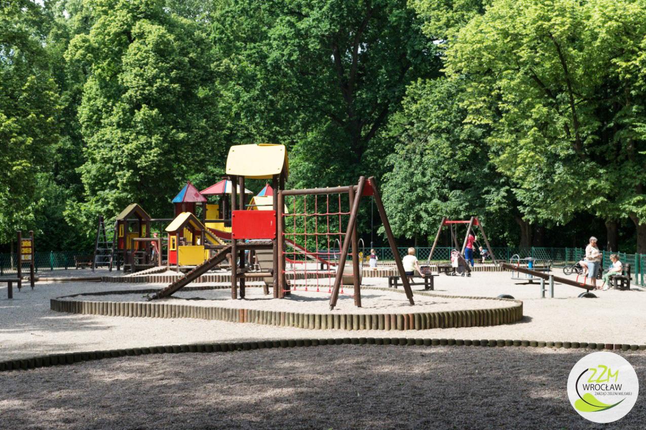 Plac zabaw Park Południowy Wrocław zdjęcie 4