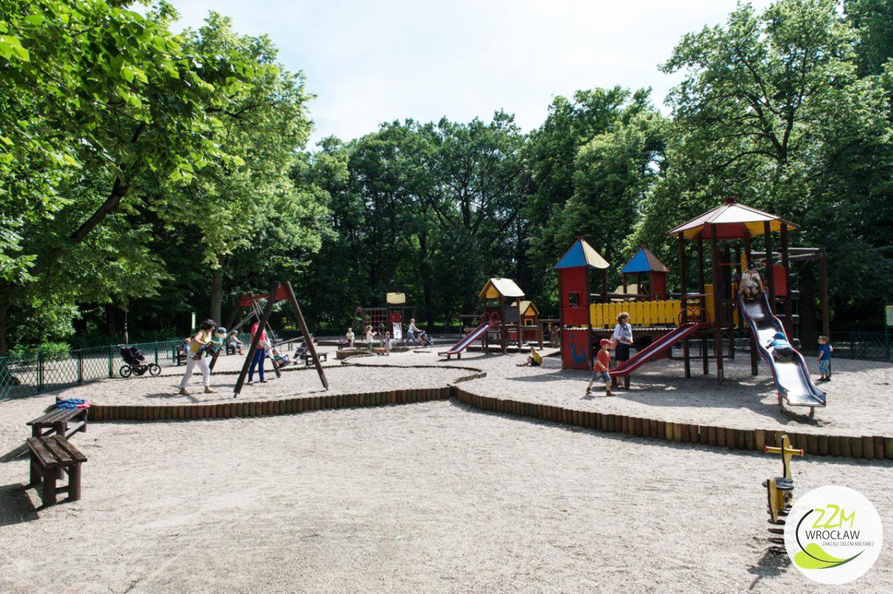 Plac zabaw Park Południowy Wrocław zdjęcie 3