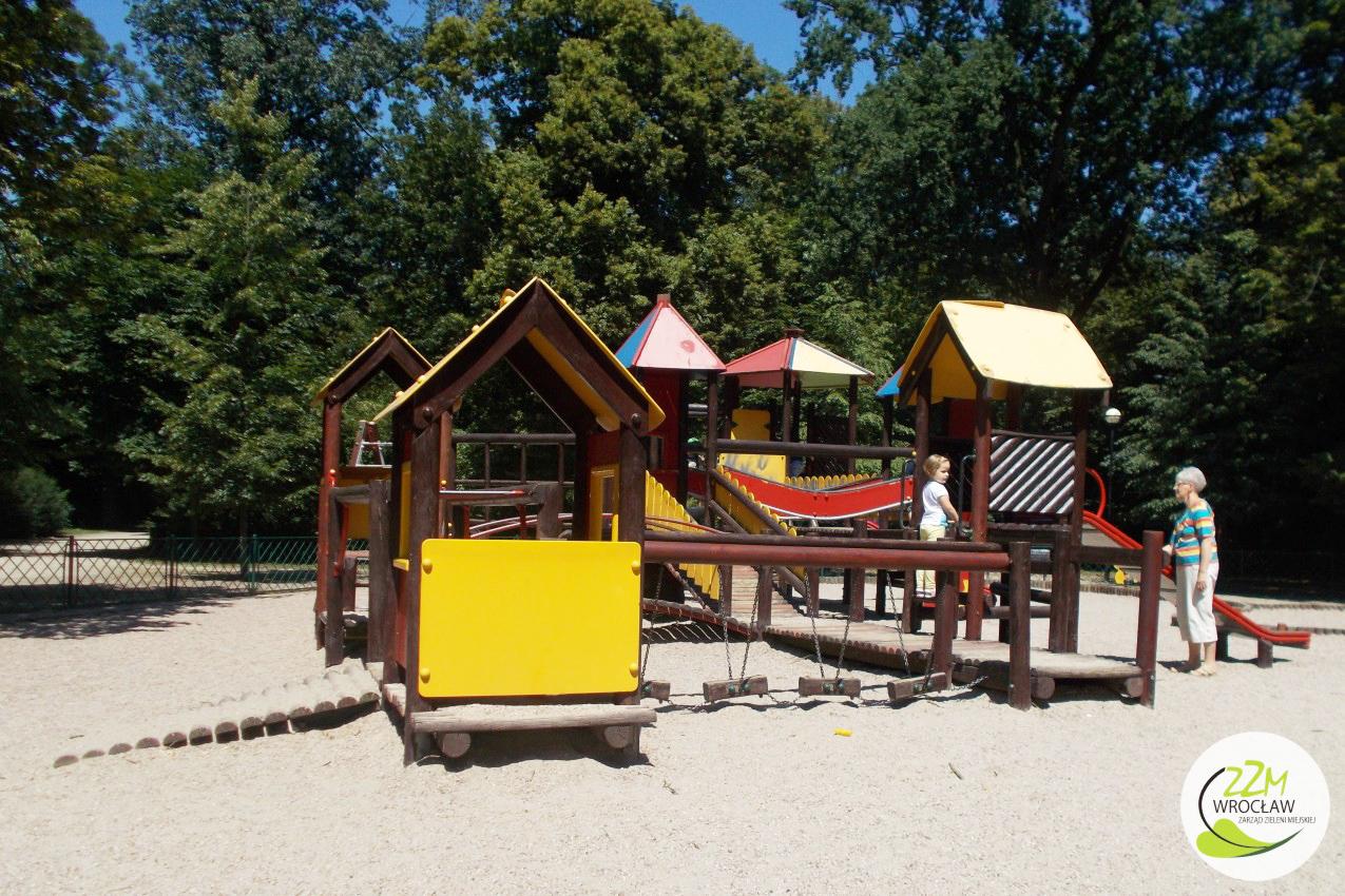 Plac zabaw Park Południowy Wrocław zdjęcie 2